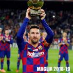 Maglia Lionel Messi BArcellona 2018-19
